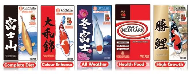JPD Koi Foods Banner